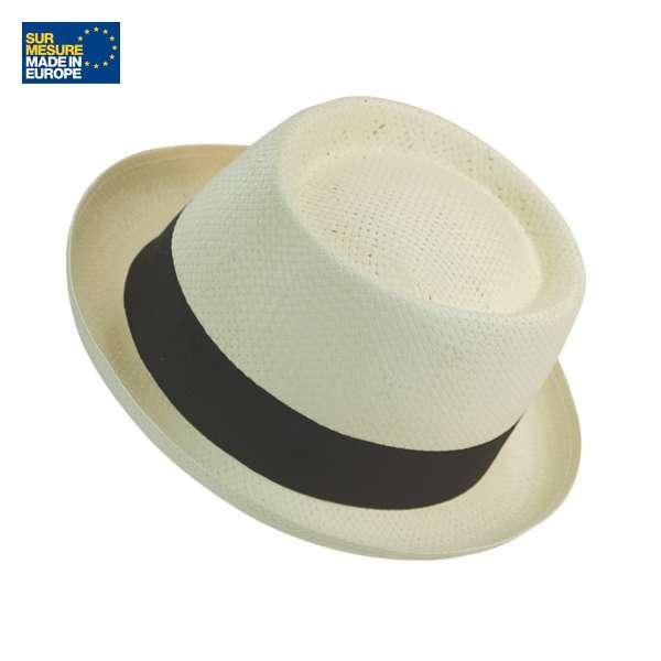 Chapeau en papier écru DOULOS