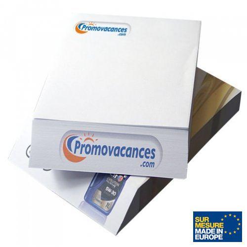 Cube papier bizeauté, Objet personnalisable, comité social économique