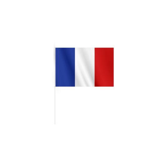 DRAPEAU EN RPET (15x10cm)  personnalisé montpellier Paris Ile de France