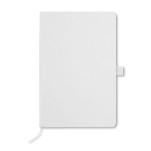 Carnet de notes ECO BOOK WHITE  personnalisé montpellier Paris Ile de France