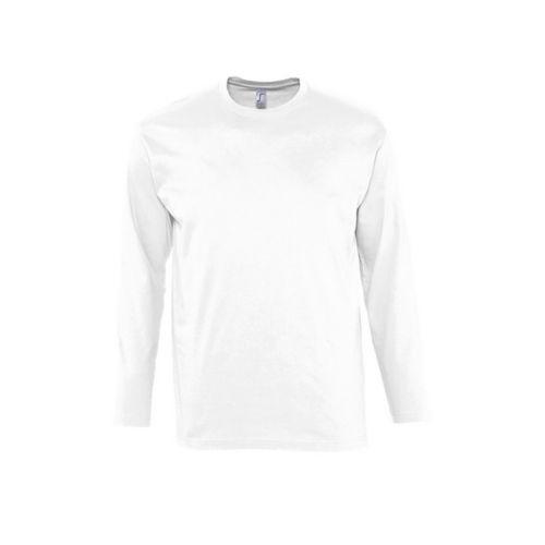 T-Shirt MONARCH Blanc Homme  personnalisé montpellier Paris Ile de France