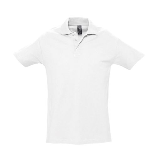 Polo SPRING Blanc