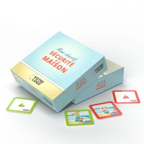 Jeu de mémo sécurité à la maison - 30 cartes