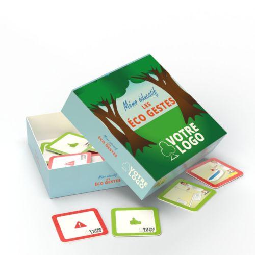 Jeu de mémo Ecogestes - 30 cartes