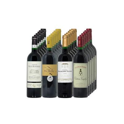 Vins de Bordeaux Cave PRIVILEGE 48 btes N°4                                                 12 CH. VIEUX BONNEAU Montagne Saint Emilion 75cl