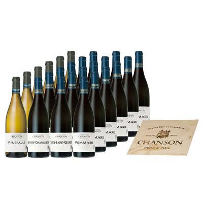 """Vins de Bourgogne COFFRET bois 24 bts """"CLASSIQUE 24"""""""