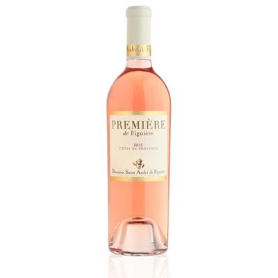 Vins de Côtes de Provence PREMIERE DE FIGUIERE ROSE 75cl. Agriculture Biologique
