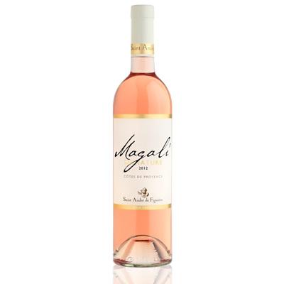 Vins de Côtes de Provence CUVEE MAGALI ROSE 75cl.