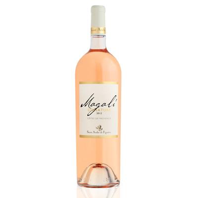 Vins de Côtes de Provence CUVEE MAGALI Magnum ROSE 150 cl.