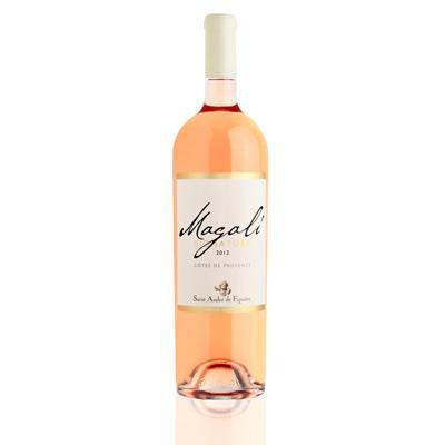 Vins de Côtes de Provence CUVEE MAGALI Jéroboam ROSE 300 cl.