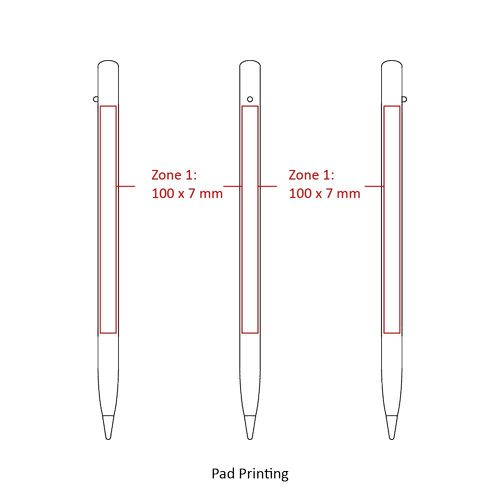 Pencil  AZAP  branded Personalized Printed Goodies by Azap Business Gift