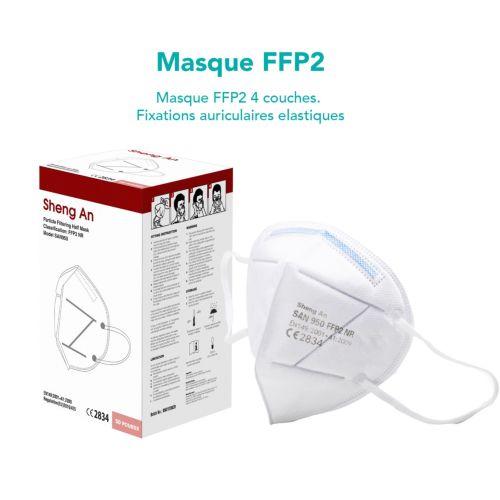 Masque FFP2. STOCK.