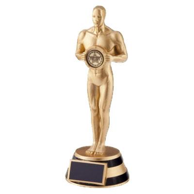 Trophée en résine Oscari