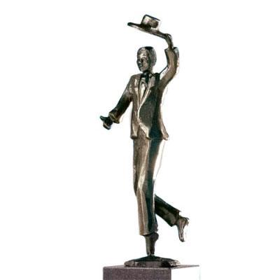 Trophée en bronze Chapeau