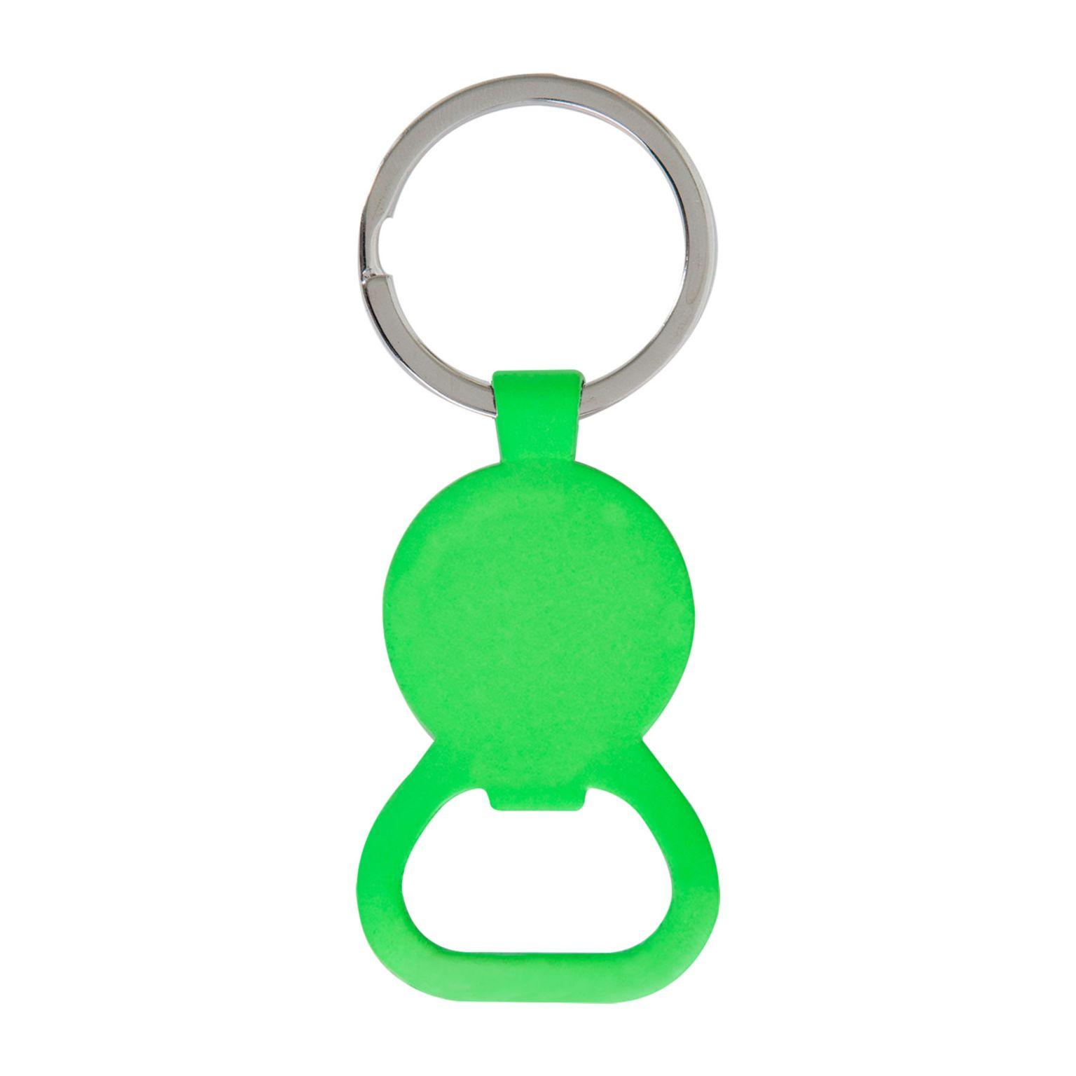 Porte-clés jeton décapsuleur