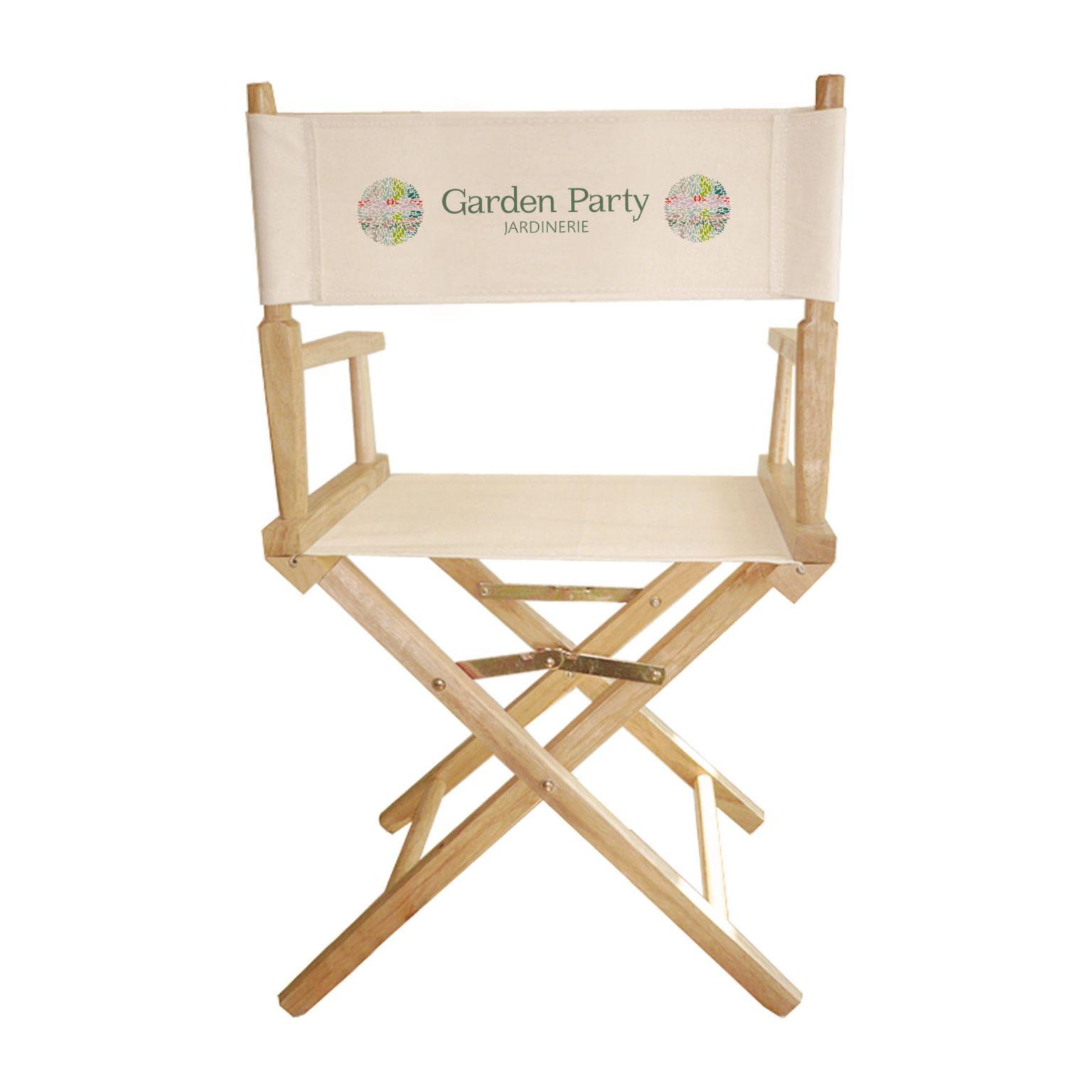 Chaise metteur en scene