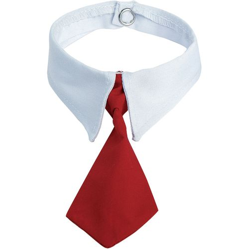 Cravate peluche