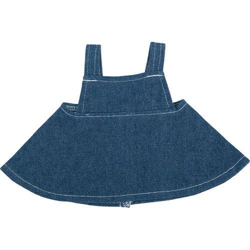 Robe jeans peluche