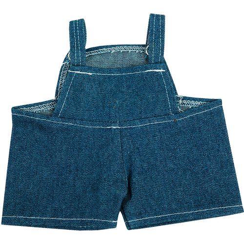 Salopette jeans peluche