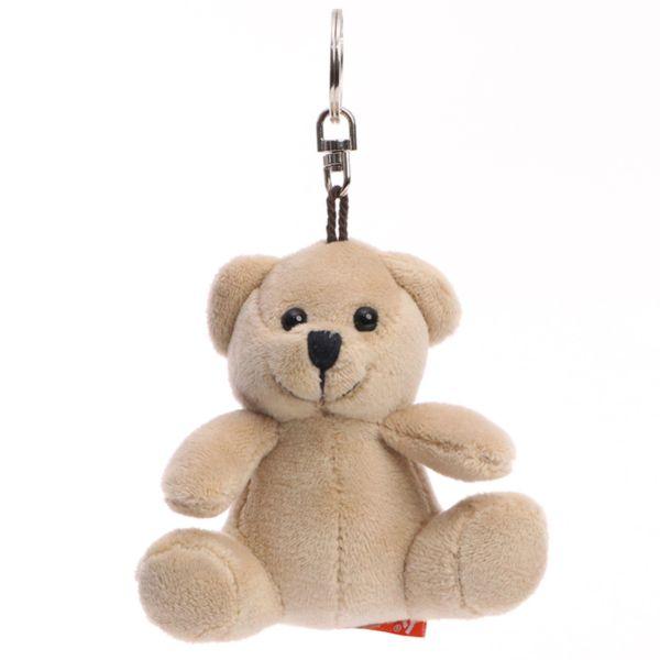 Porte clés peluche ours