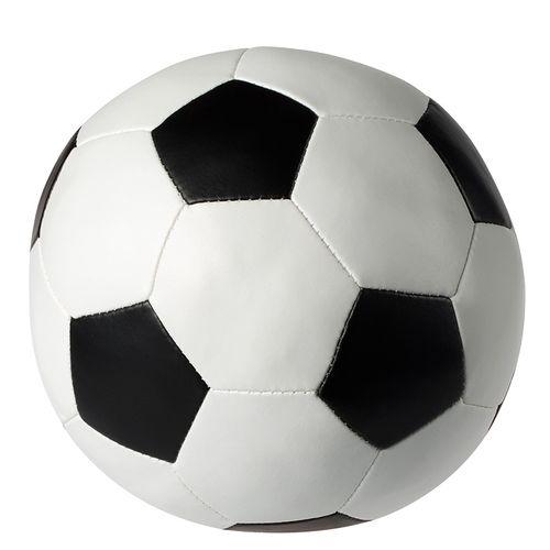 Balle de foot souple.