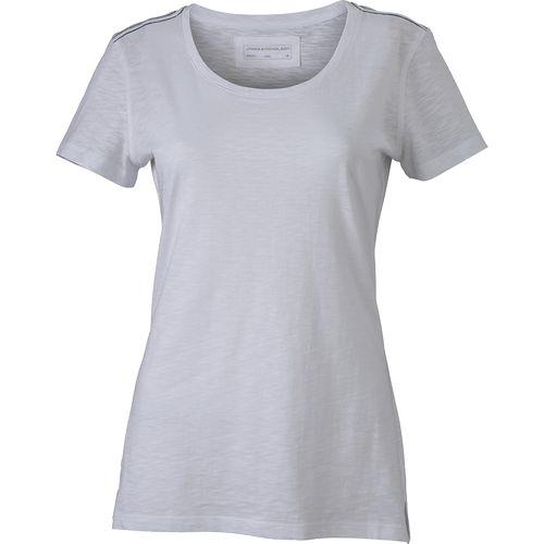 T-shirt fil flammé Femme