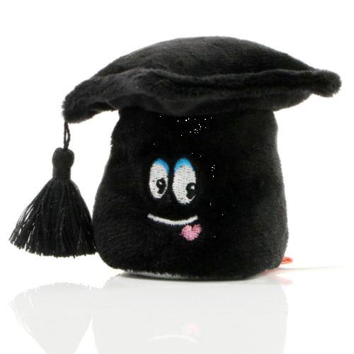 Peluche chapeau de diplômé