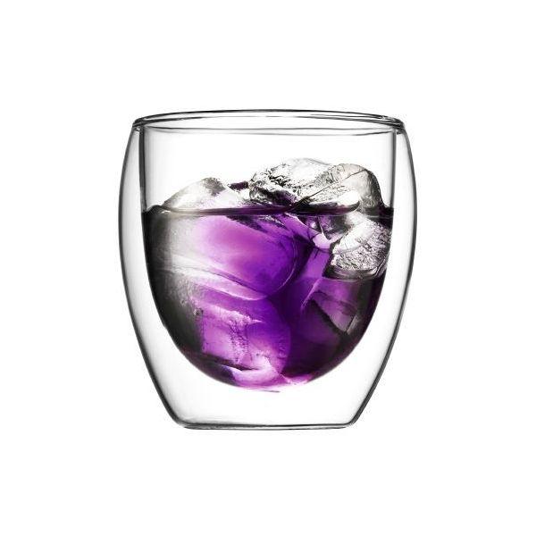 Set 2 verres, double paroi, 0.08 l