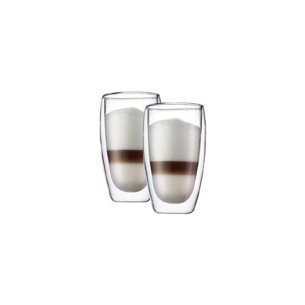 Set 2 verres, double paroi, 0.45 l
