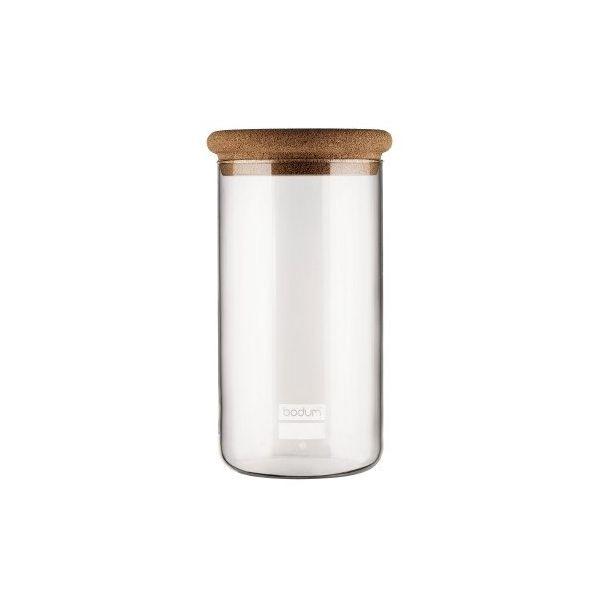 Bocal de conservation en verre, 2.0 l, couvercle liège