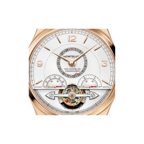Montblanc Heritage Chronométrie : Exo Tourbillon Minute Chronograph