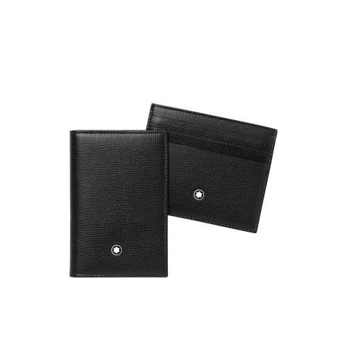 Meisterstück Selection : Coffret cadeau porte-cartes de visite et pochette 6cc