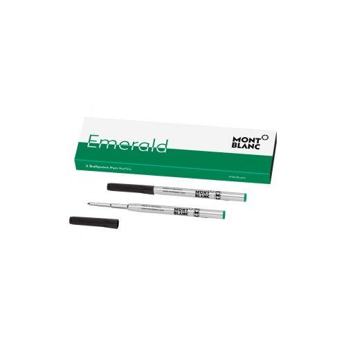 Les accessoires d'écriture :  2 recharges pour stylo bille (M)