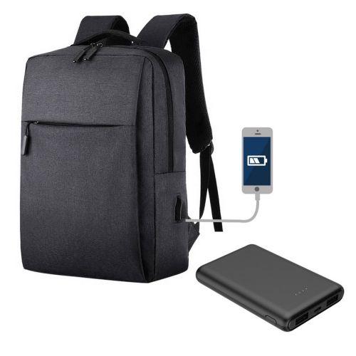 Pack sac à dos noir connecté, Objet personnalisable, comité social économique