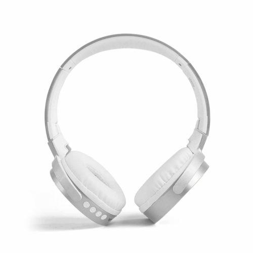 Casque compatible Bluetooth® argenté, Objet personnalisable, comité social économique