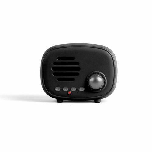 Haut-parleur compatible Bluetooth® noir, Objet personnalisable, comité social économique