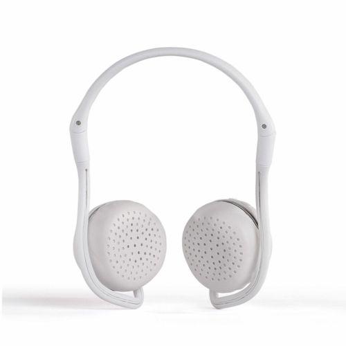Casque sport compatible Bluetooth® Blanc, Objet personnalisable, comité social économique