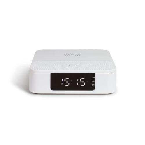 Enceinte réveil chargeur sans fil 10W, Objet personnalisable, comité social économique