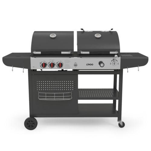 Barbecue 2 en 1 charbon et gaz, Objet personnalisable, comité social économique