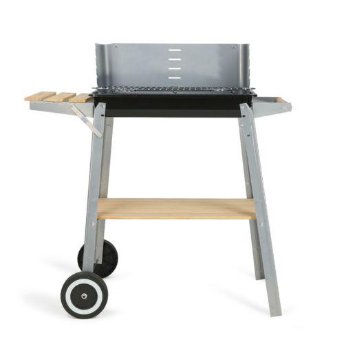 Barbecue charbon finition bois, Objet personnalisable, comité social économique