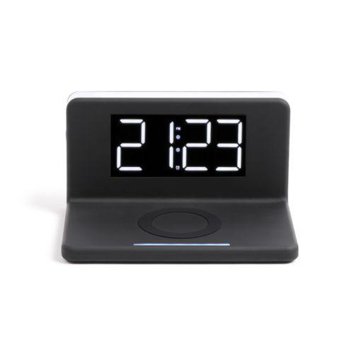 Réveil chargeur sans fil fast charge, Objet personnalisable, comité social économique