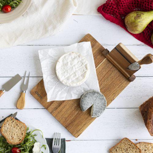 Plateau à fromage avec ustensiles par 2G Publicité