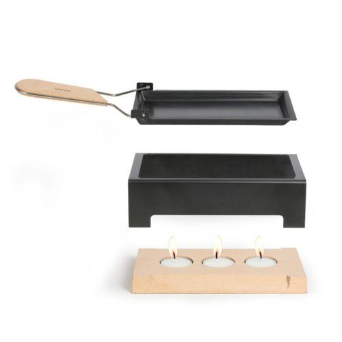 Raclette à la bougie par 2G Publicité