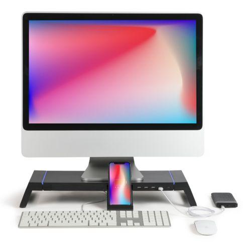 Rehausseur d'ordinateur avec hub, Objet personnalisable, comité social économique