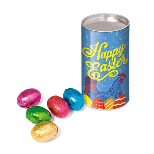 Petit tube snack - Œufs en chocolat
