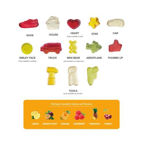 Tirelire métallique - Gélifiés aux fruits