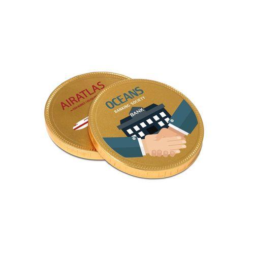Médaille en chocolat - 55 mm