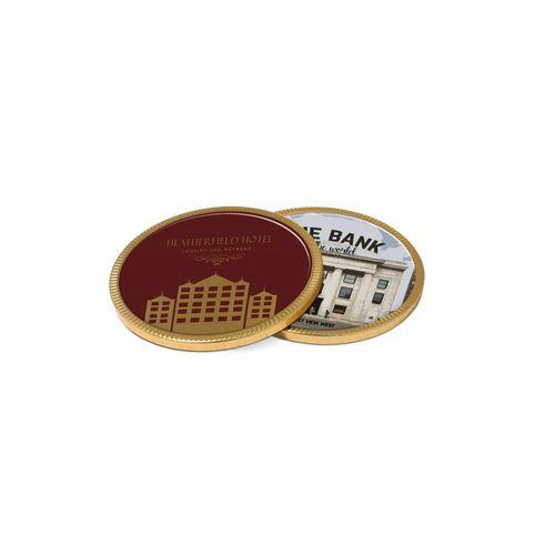 Médaille en chocolat - 100 mm