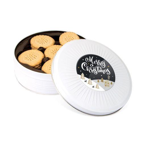 Boite métallique à partager - Biscuits shortbread
