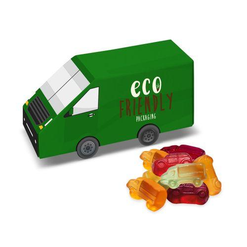 Boite carton Van - Gélifiés aux fruits